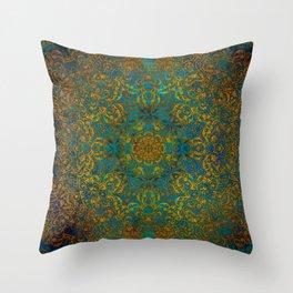 Magic 1 mandala #mandala #magic Throw Pillow