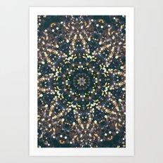 Solar Ohm Art Print