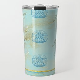 Beach Design Travel Mug