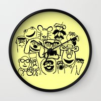 muppet Wall Clocks featuring Muppet line by BlackBlizzard