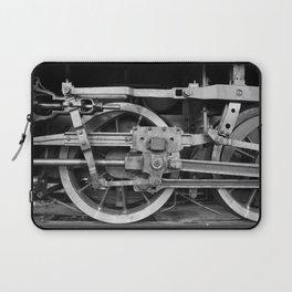 locomotive wheels Laptop Sleeve