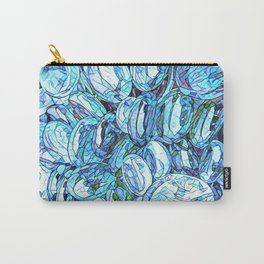 Blue Glass Carry-All Pouch