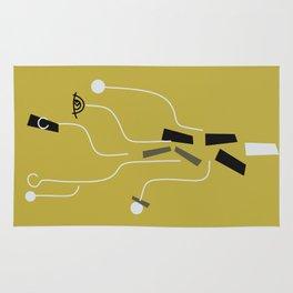Clueless Bramble [Gold] Rug