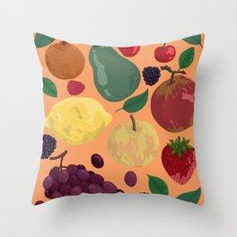 Fruity #4 Throw Pillow