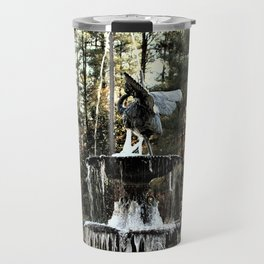 Winter's Lace Travel Mug