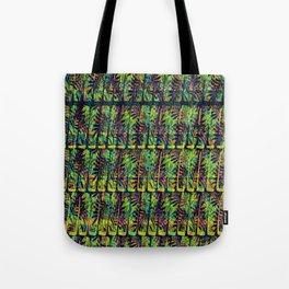 Tropical Stripe Tote Bag