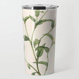 commelina africana Redoute Roses 1 Travel Mug