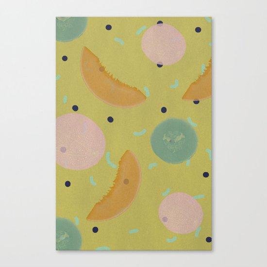 Cantaloupe Canvas Print