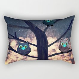 owl-450 Rectangular Pillow