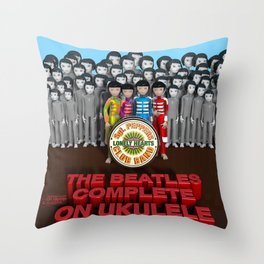 Sgt. Pepper's Lonely Hearts Club Band Throw Pillow