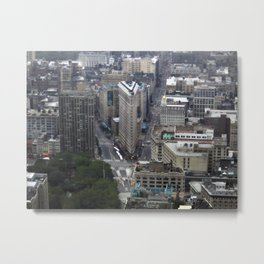 Flatiron District New York Metal Print
