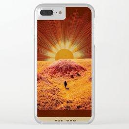 The Sun Clear iPhone Case