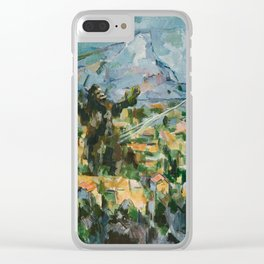 Mont Sainte Kaiju Clear iPhone Case