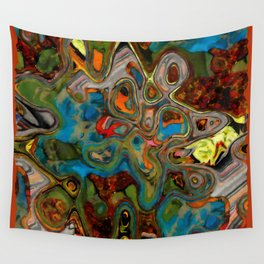 Stoned Collage 2 Wall Tapestry