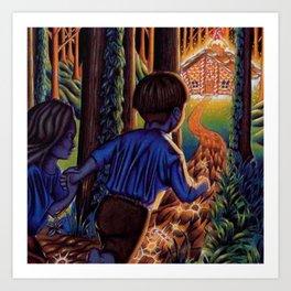 Hansel and Grethel/Hansel and Gretel Art Print