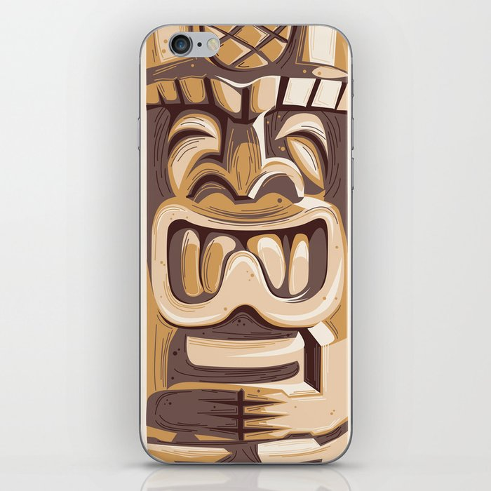 Happy Tiki iPhone Skin