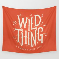 Wild Thing Wall Tapestry
