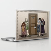 aragorn Laptop & iPad Skins featuring Rise and Shine by wolfanita