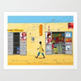 Kaolack Art Print