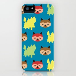 The Bandit Raccoons II iPhone Case