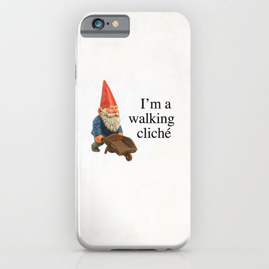 Walking Cliché iPhone & iPod Case