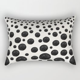 BNW Agatized Coral Dots Rectangular Pillow