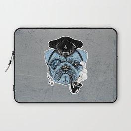 Sailor Pug Laptop Sleeve