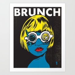 Brunch Pop Kunstdrucke