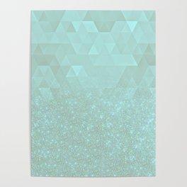 Experimental Glitter VIII Poster