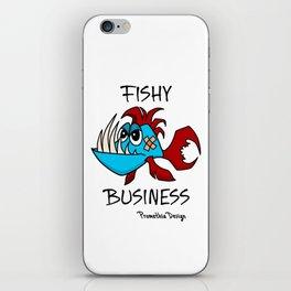 Fishy Business iPhone Skin