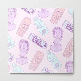 Vaporwave Pattern Metal Print