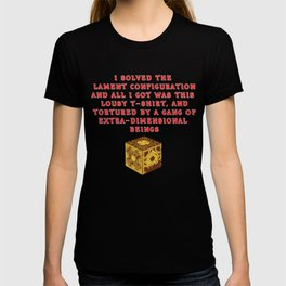 I Solved The Lament Configuration T-shirt