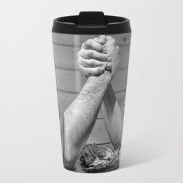 mens battle Travel Mug