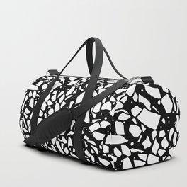 Terrazzo Spot 2 Black Duffle Bag