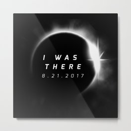 Total Solar Eclipse August 21 2017 Metal Print