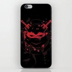 Raphael Turtle iPhone & iPod Skin