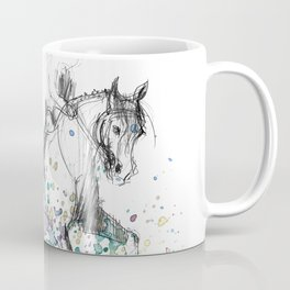Horse (Rainy canter) Coffee Mug