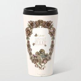 le petit, amour, délicate Travel Mug