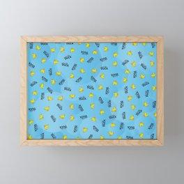 WHAT THE DUCK Framed Mini Art Print