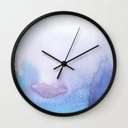Abstract Valley Wall Clock