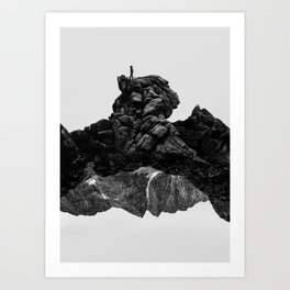 Isolate Me Art Print