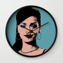 Rihanna Pop Art Wall Clock
