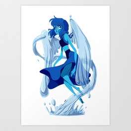 Maiden of the Water Art Print
