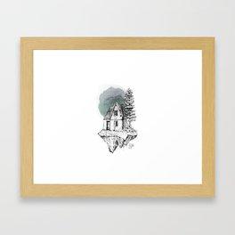 Piece of Destruction by javiercodina.net Framed Art Print