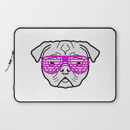Hipster Puppy Laptop Sleeve