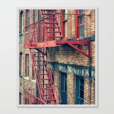 Color Theory, Red Canvas Print