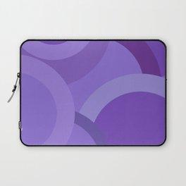 Abstract Geometric 3 Purple Laptop Sleeve