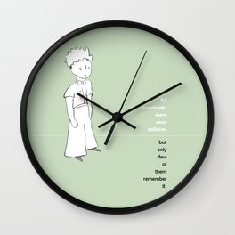 LE PETIT PRINCE -the little prince- Wall Clock