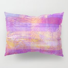 Marbled Patchwork Pillow Sham