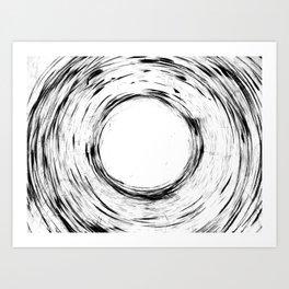 Worm Hole II Art Print